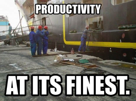 productivity meme
