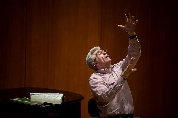 Donald Palumbo, the Metropolitan Opera's chorus master.       Credit Damon Winter/The New York Times