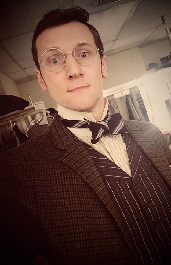 Matt Gibson as Bob Cratchit Goodspeed Opera House  A Christmas Carol
