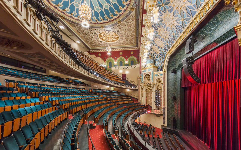 The New York City Center renovation project was carried out by Ennead Architects - click image for more details.
