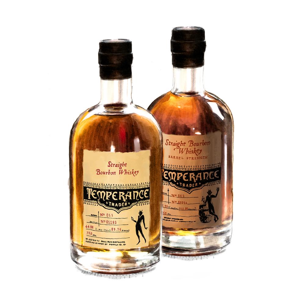 Temperance Trader Whiskeys