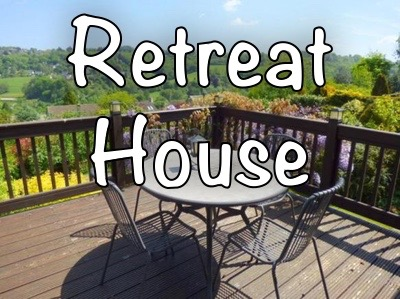The Retreat House that we run for Christian leaders.