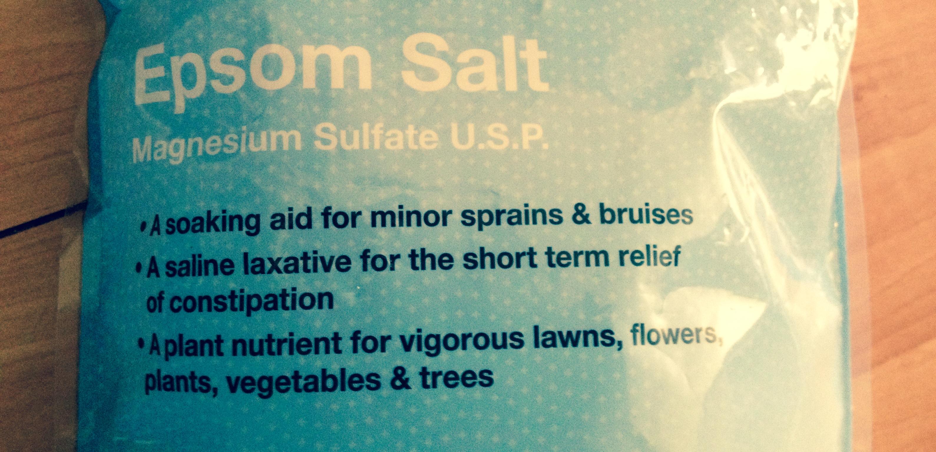 14 Magic Uses for Epsom Salt — Lovie Acupuncture and Healing