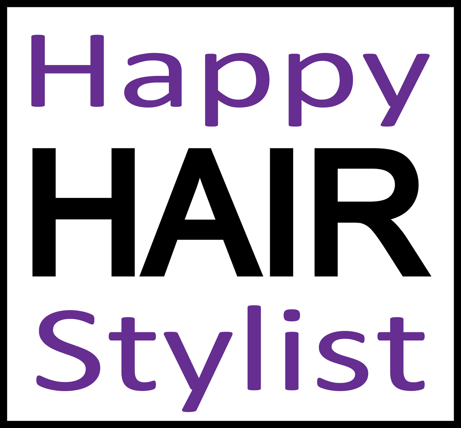 Happy Hair Stylist