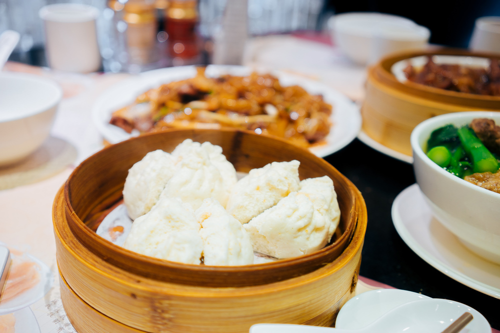 Pork buns (char siu bao) - 叉烧包