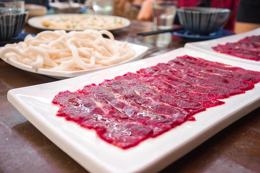 Raw Beef Sashimi