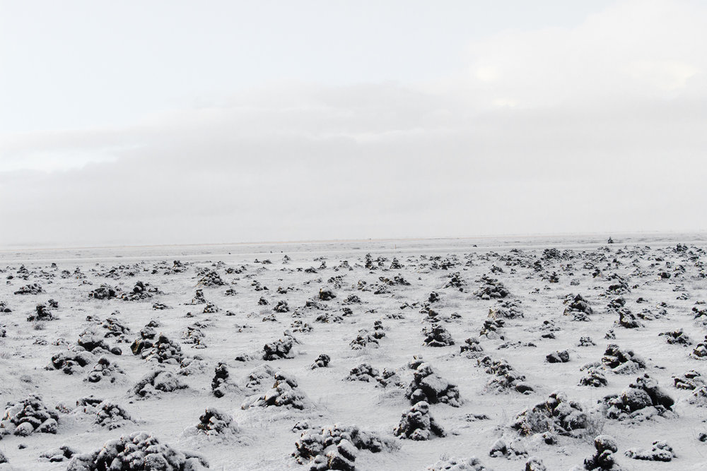 Endless Snow, Somewhere in the middle of Iceland