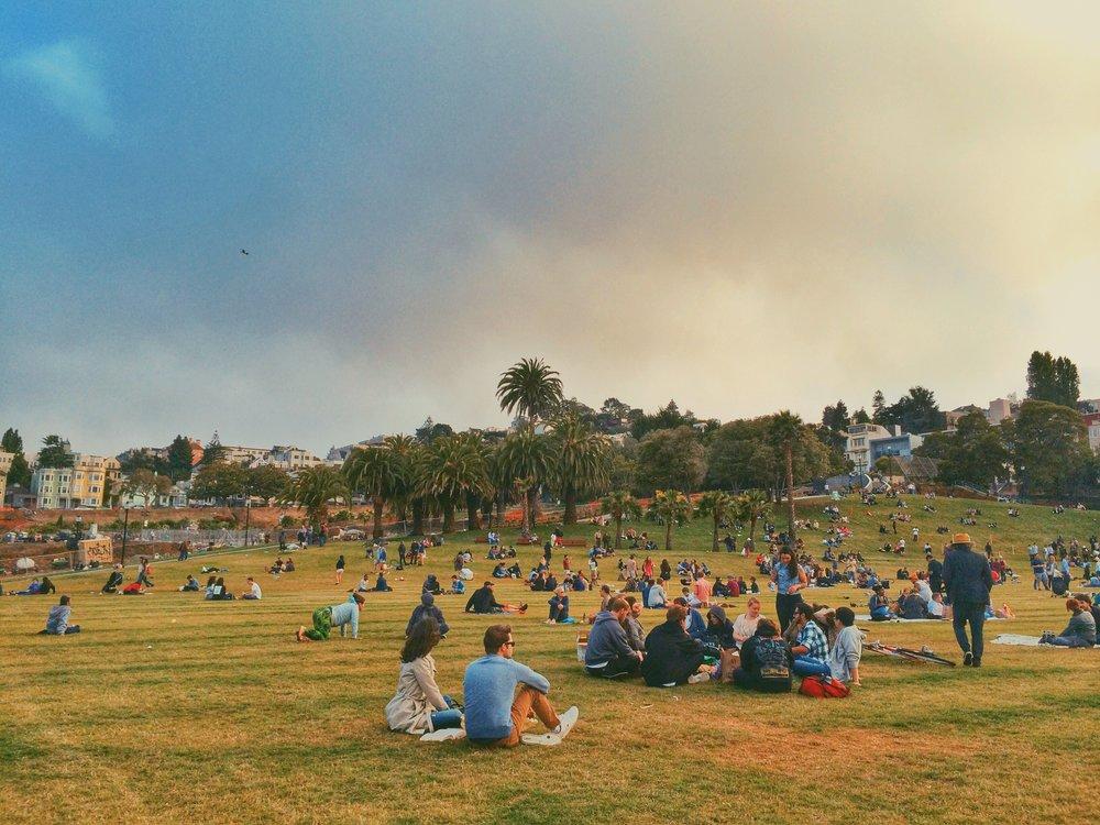Mission Dolores Park, SF