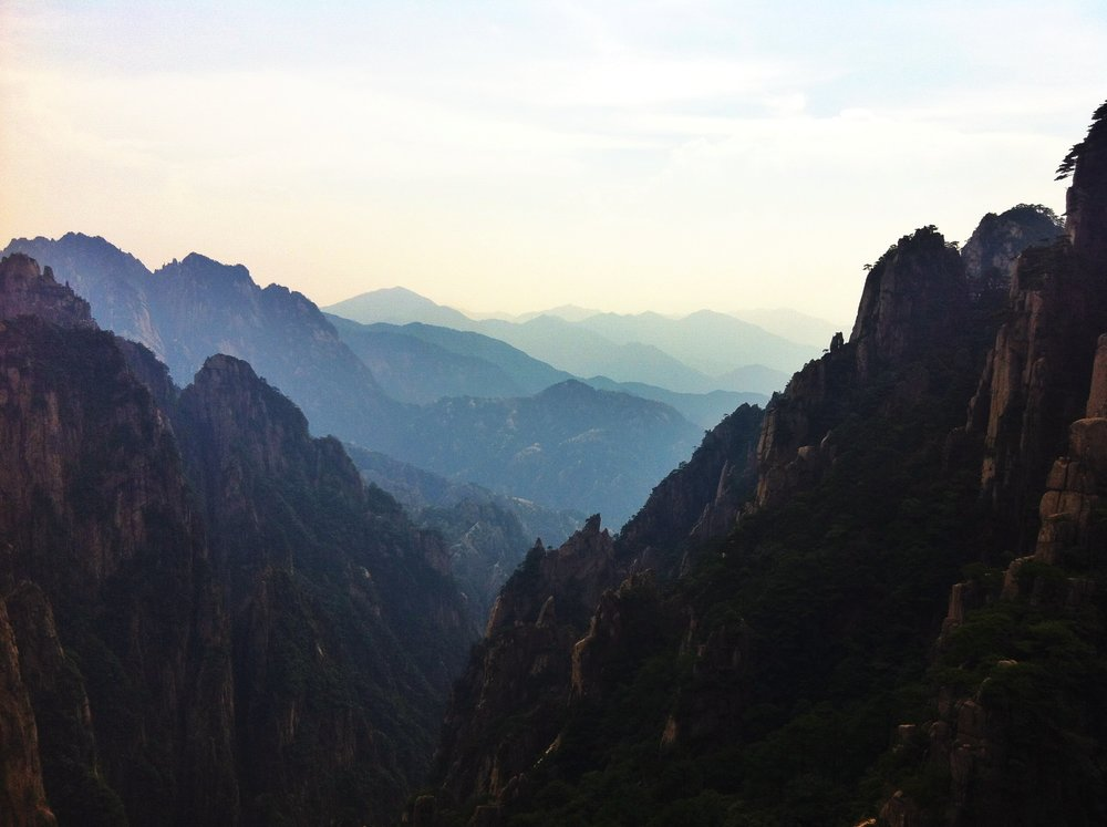On Top of Yellow Mountain (Huanghshan)