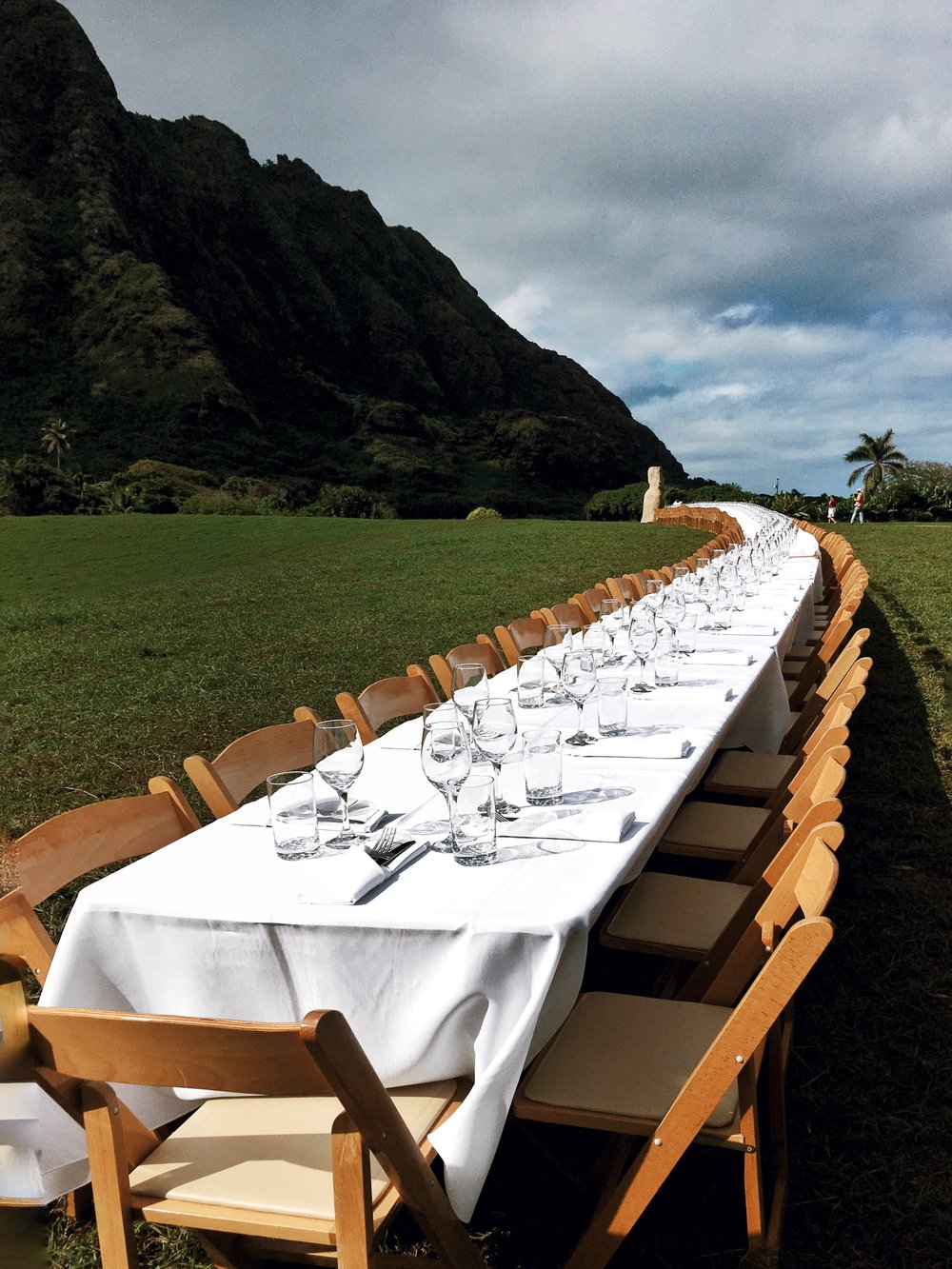 World's Longest Dining Table...