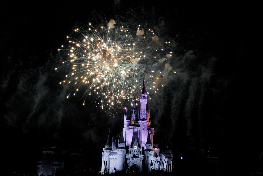 Magic Kingdom Fireworks, Disney Orlando