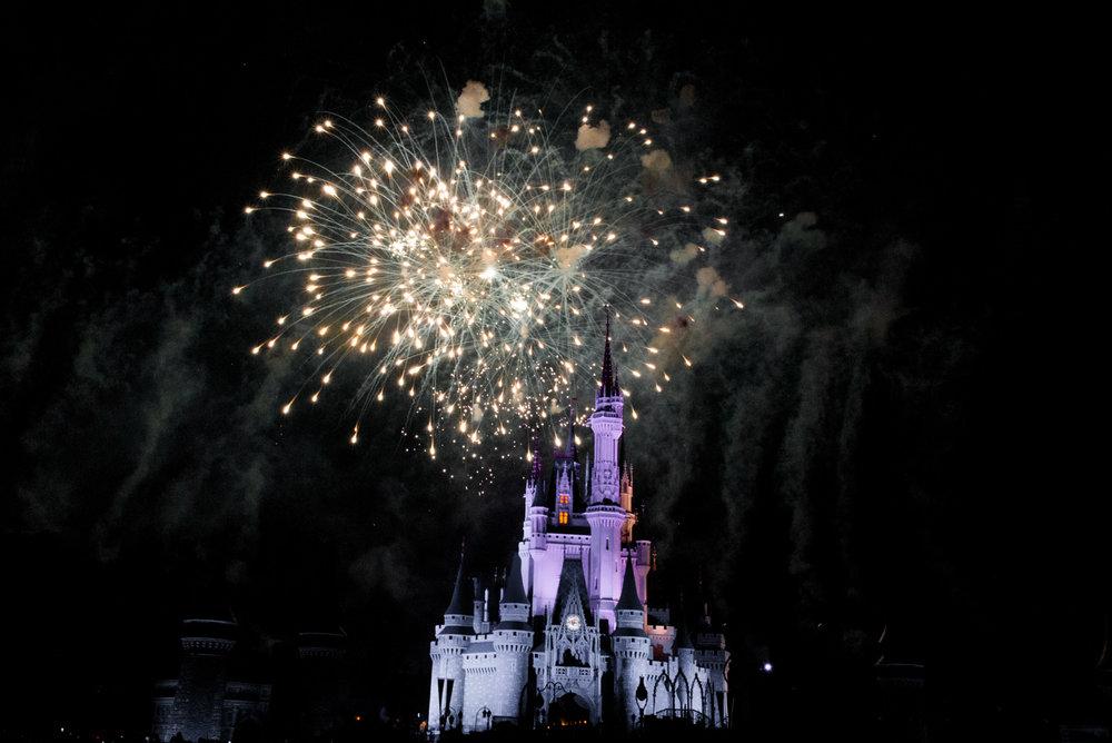 Magic Kingdom Fireworks, Disney Orlando