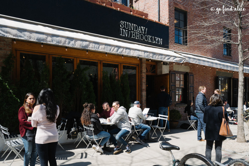 Sunday in Brooklyn - Outdoor Patio