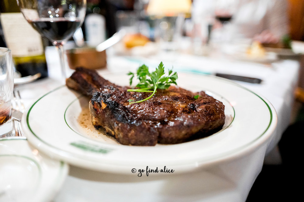USDA Prime Bone-In Rib Eye 24 oz / $66