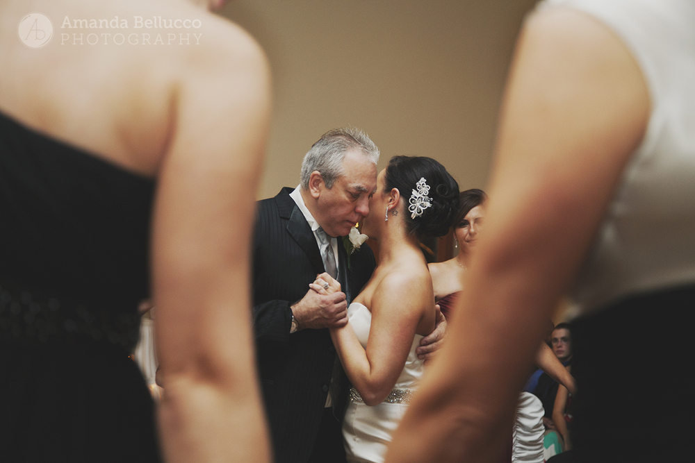 Father-daughter dance at the Italian American Community Center.