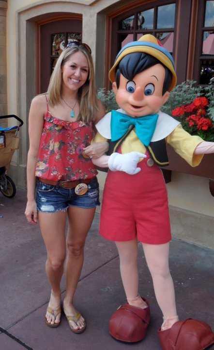 Occasion: First trip ever to Magic Kingdom!   Shirt: Forever 21, $19   Shorts: Abercrombie, $50   Belt: H&M, $20 Shoes: Rainbow, $40 Necklace: Banana Republic, $20 1st Time Visitor Button: c/o Disney!!