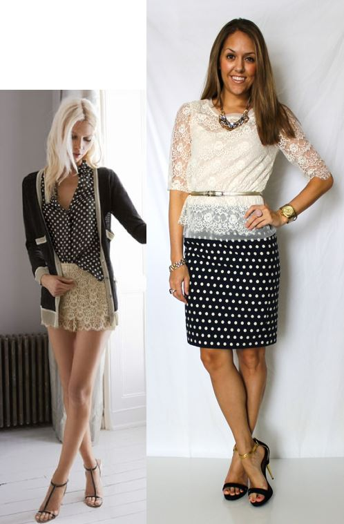 Inspiration photo: Pinterest   Shirt: Charlotte Russe, $18 (similar options below)   Belt: Limited, $15   Skirt: Banana Republic, $50 (similar options below)   Necklace: Banana Republic, $20   Shoes: Colin Stuart c/o MJR Sales, $27   Watch: Michael Kors, family gift -  http://amzn.to/qqJe2S   Bracelets: Banana Republic $10, My Stella & Dot website $49 -   http://bit.ly/tXB9AY   Rings: LOFT $10   http://bit.ly/zY4AcD  , My Stella & Dot website, $49   http://bit.ly/AhOhO4