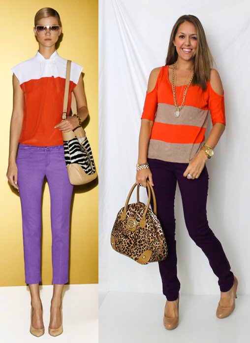 Color Inspiration: Orange and Purple
