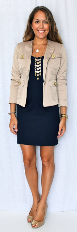 Dress   Jacket   Short Necklace