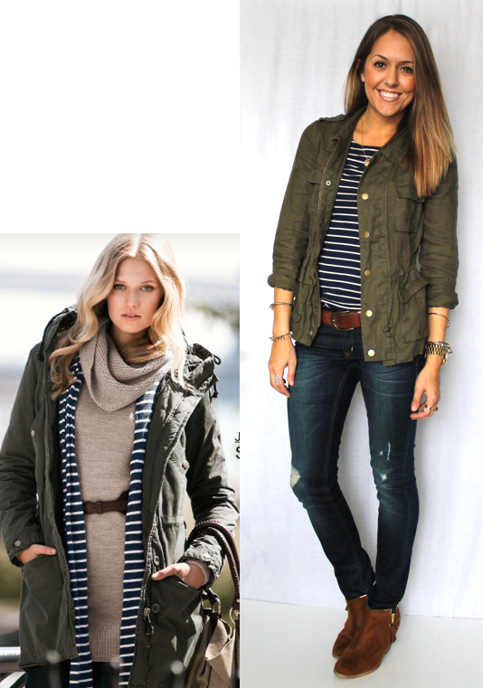 Today's Everyday Fashion: Military Jacket, 12 Ways — J's Everyday ...