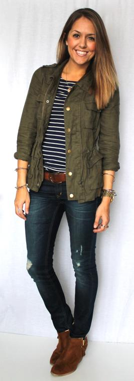 Todayu0026#39;s Everyday Fashion Military Jacket 12 Ways u2014 Ju0026#39;s Everyday Fashion