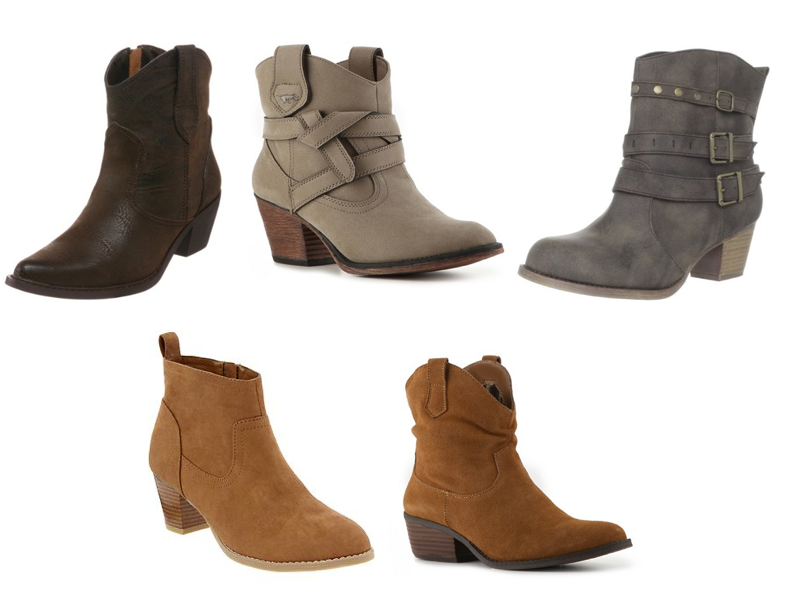 Today's Everyday Fashion: Ankle Boots — J's Everyday Fashion