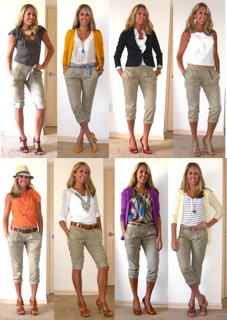 Flashback Friday Cropped Khakis u2014 Ju0026#39;s Everyday Fashion