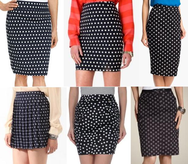 3f0ffe6be Today's Everyday Fashion: Navy Polka Dots — J's Everyday Fashion