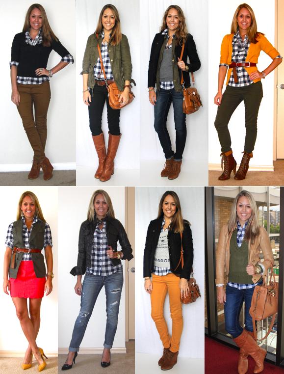 Today's Everyday Fashion: Blue Plaid — J's Everyday Fashion