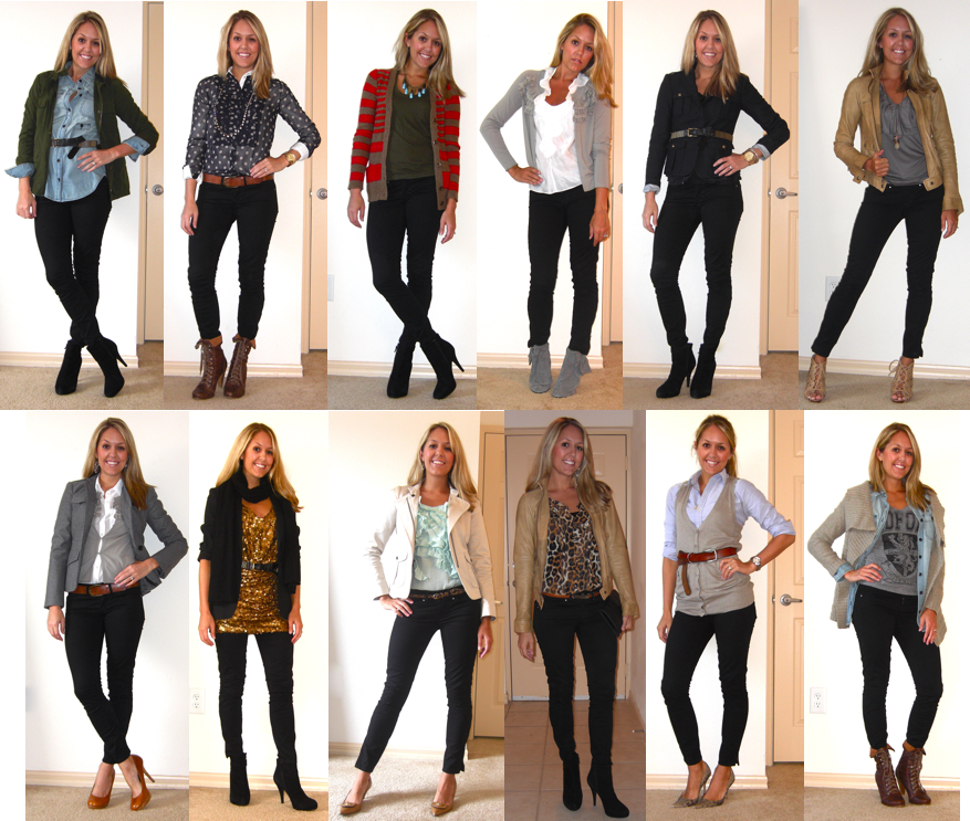 What to Wear With Black Skinny Jeans Black Skinny Jeans Can be