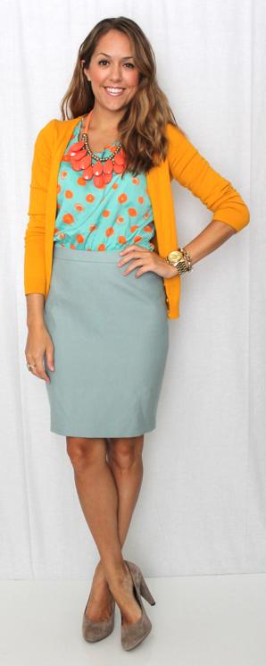 Today S Everyday Fashion Polka Dots Four Ways J S