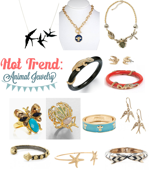 Hot Trend: Animal Jewelry
