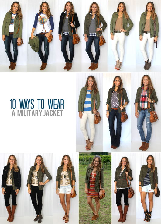 10 Ways to Wear a Military Jacket, Top 10 Shoe Trends ...