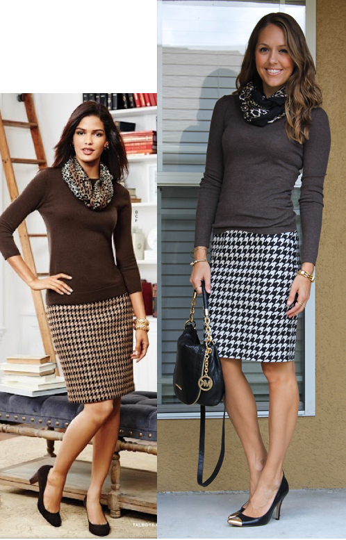 Inspiration:  Talbots catalog