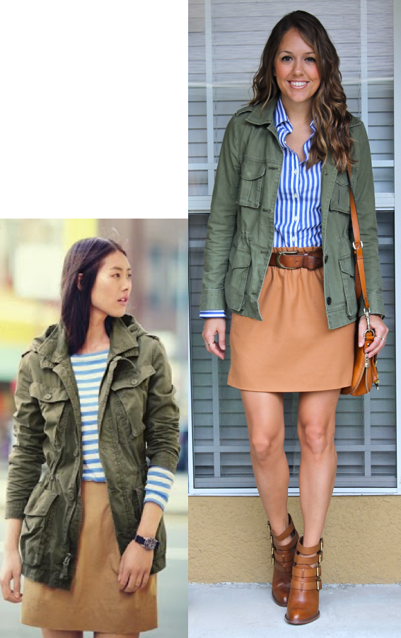 Inspiration: J.Crew Top, Jacket