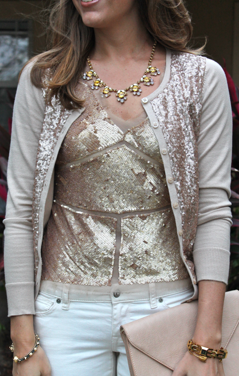 Today's Everyday Fashion: The Sequin Cardigan — J's Everyday Fashion