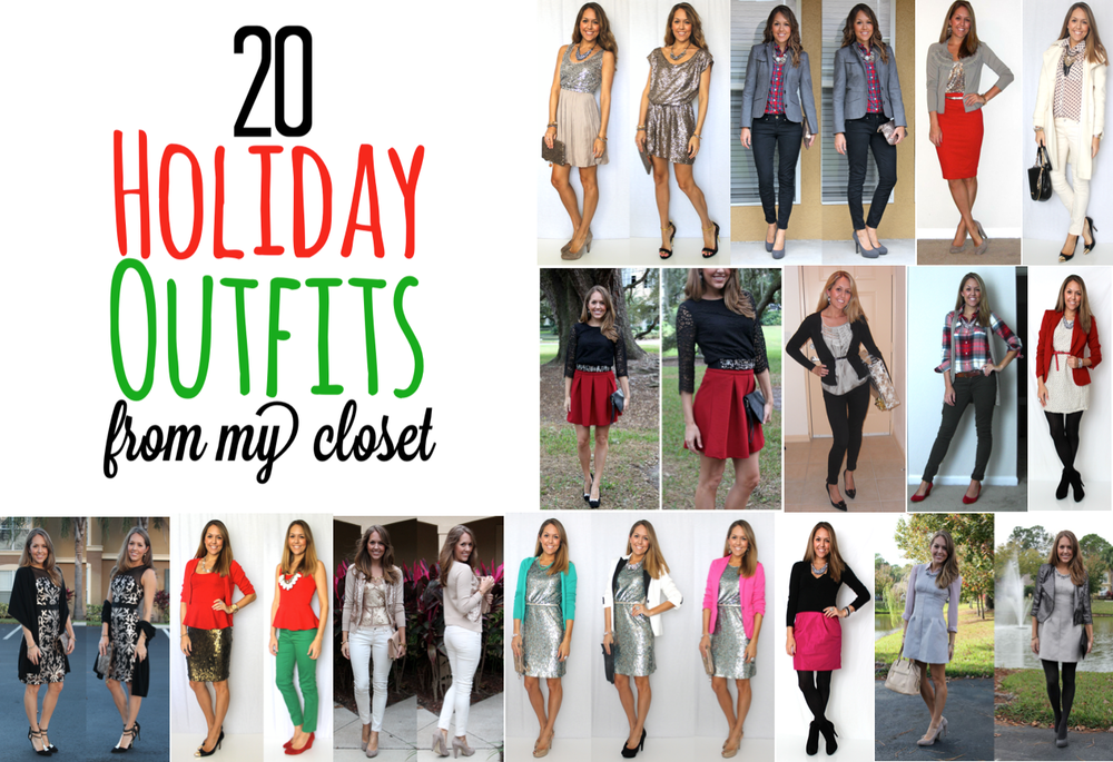 20 Holiday Outfits From My Closet J 39 S Everyday Fashion