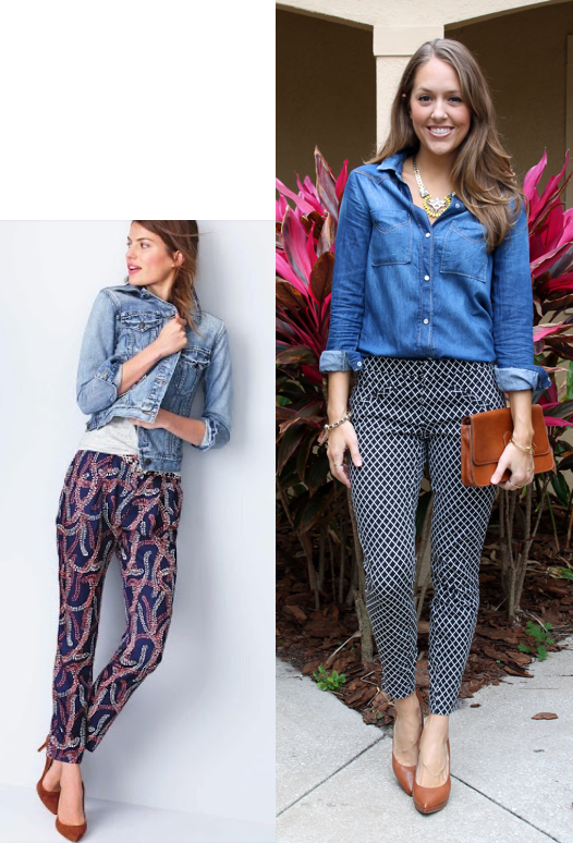 25b17c30a5d Today s Everyday Fashion  Denim and Florals — J s Everyday Fashion