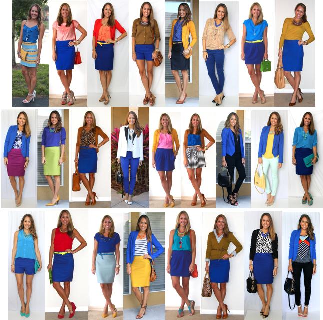 Cobalt Fall Fashion