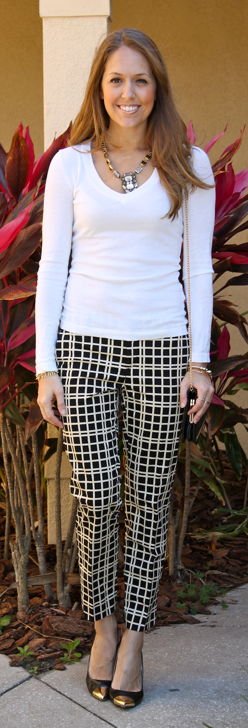 br windowpane pants