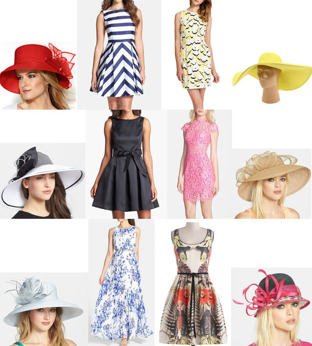 The kentucky derby style dresses