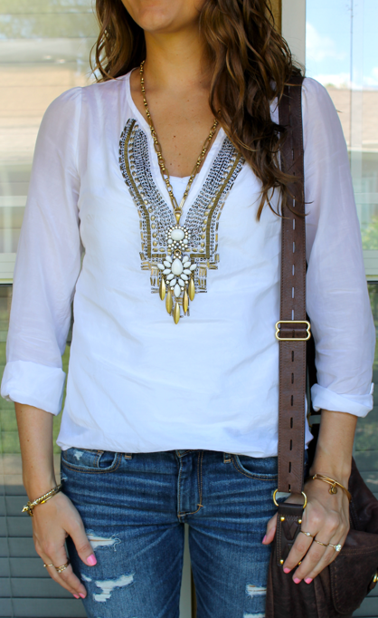 Mallorca necklace outfit
