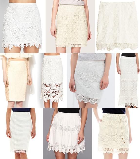 Crochet skirts under $90