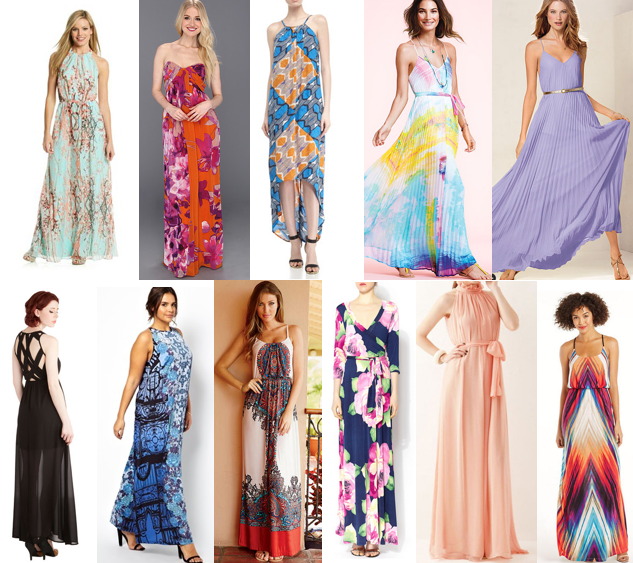Maxi Dresses For A Summer Wedding What To Wear