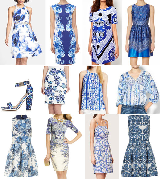 Shop the blue china print trend on a budget