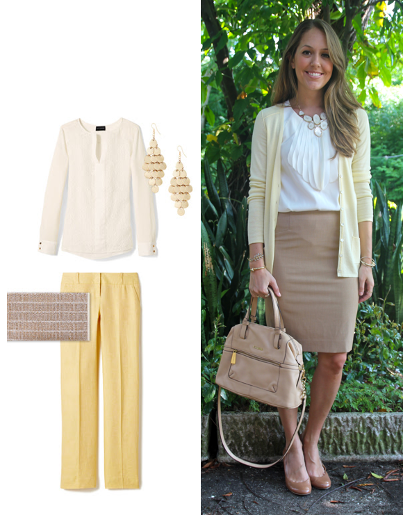 Inspiration: Limited (pants, clutch, earrings)