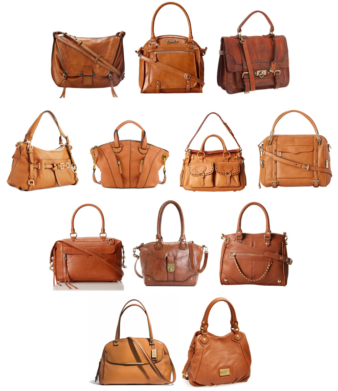 Cognac handbags shopping options