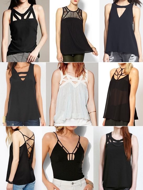 Cut out tops under $100