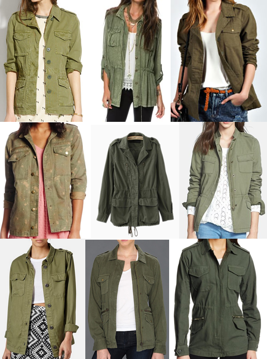 Military jackets under $100