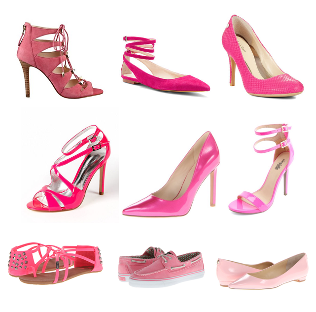 Pink shoes under $100